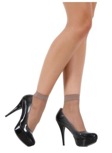 Pierre Cardin 9 Çift  Likralı Soket Çorap Renkli